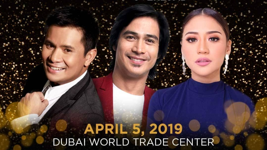 "Ogie, Piolo, and Morissette perform live in Dubai for the ""OPM Overload"""