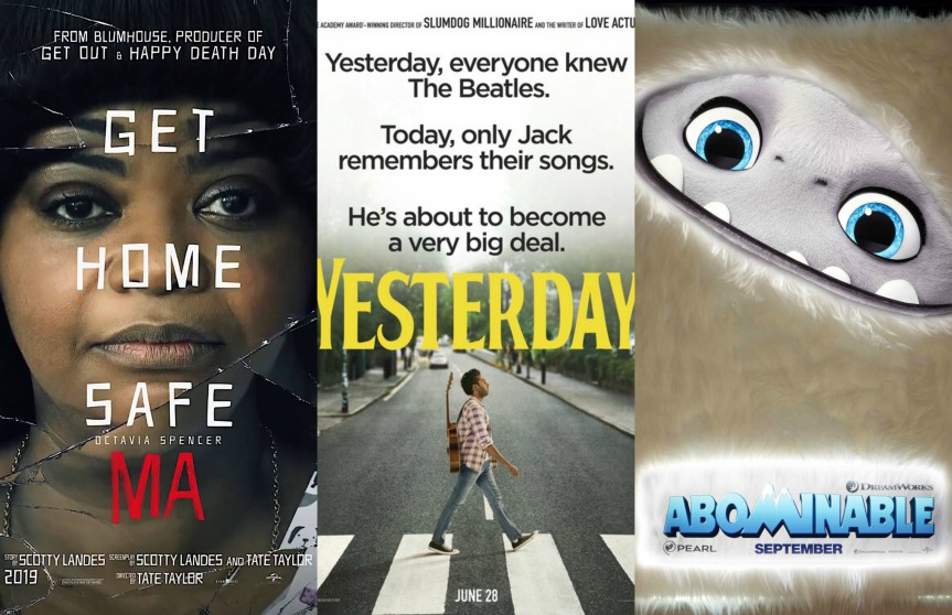 """Abominable,"" ""Ma"" & ""Yesterday"" Launch New Posters"