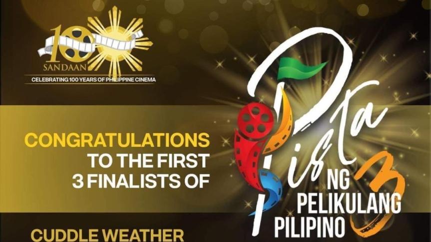 FDCP reveals 3 Pista ng Pelikulang Pilipinofinalists