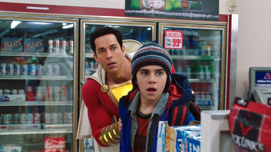 """""""IT"""" Standout Jack Dylan Grazer is Fanboy Freddy in""""Shazam!"""""""