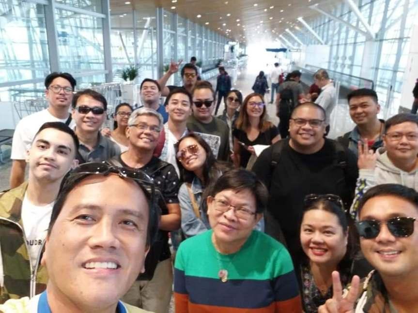 The Philippine Delegates enjoy their 2nd day in ASEAN International Film FestivalAwards