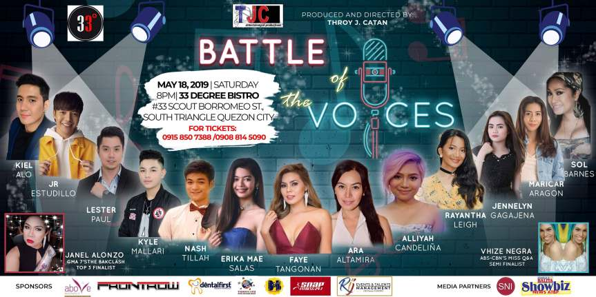 "Ang concert show na ""Battle of the Voices"", patok sa mga audience"