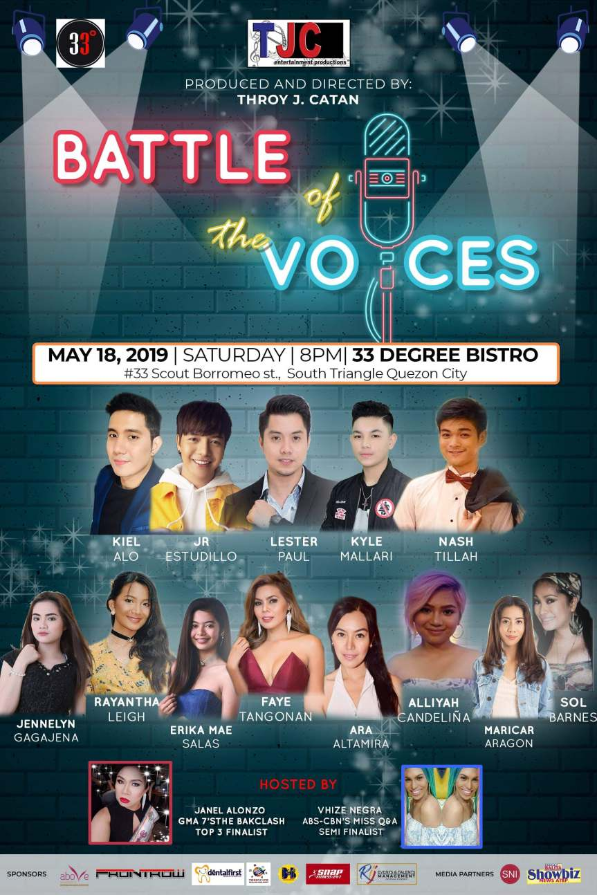 battle of the voices poster