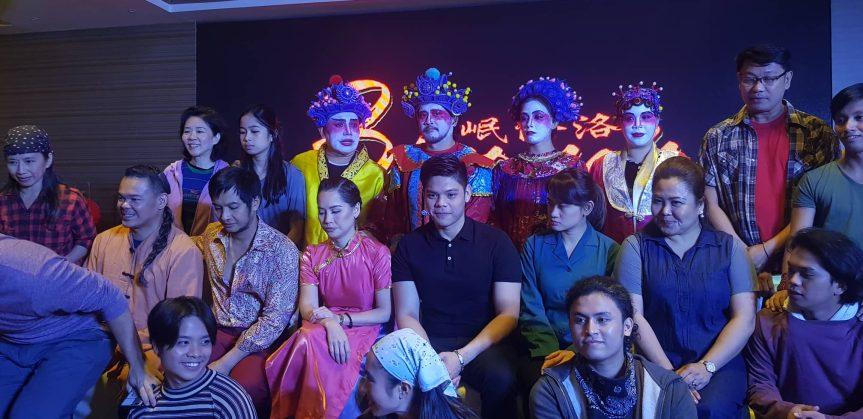 "Restaging of Joel Lamangan's ""Binondo, A Tsinoy Musical"" thisJuly"
