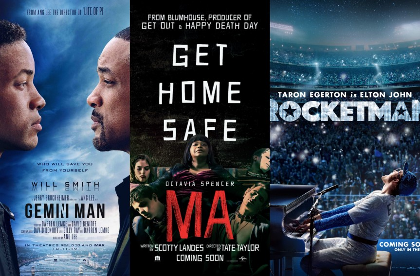 "New Posters Arrive for ""Gemini Man,"" ""Ma,"" and ""Rocketman"""
