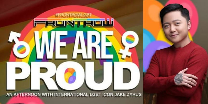 Celebrate Pride Month with Jake Zyrus and Frontrow
