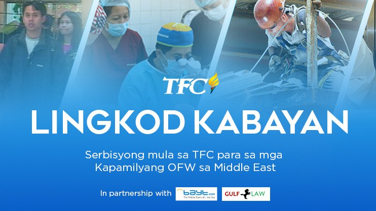 "TFC Middle East launches ""Lingkod Kabayan"" for OFWs"
