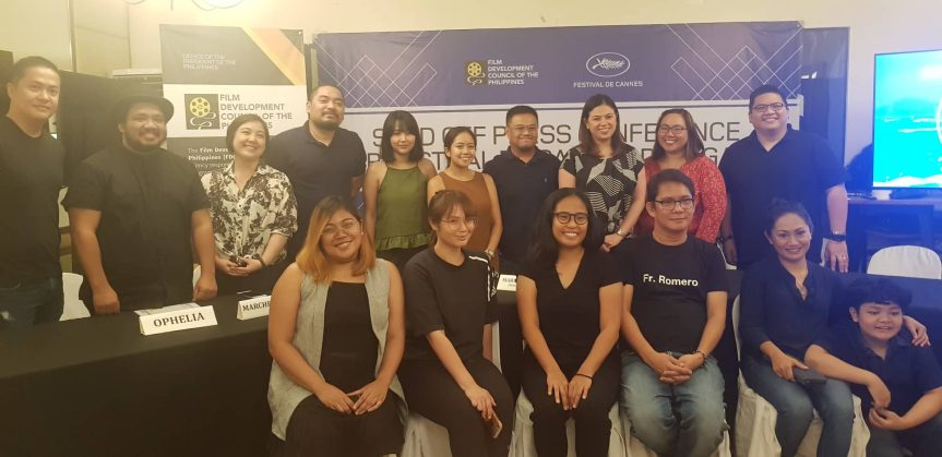 Philippine Delegates on the Road to Cannes