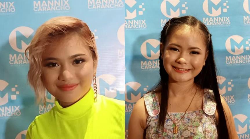 Alliyah Cadeliña at Rhed Bustamante, pumirma ng kontrata sa Mannix Carancho Artist and TalentManagement