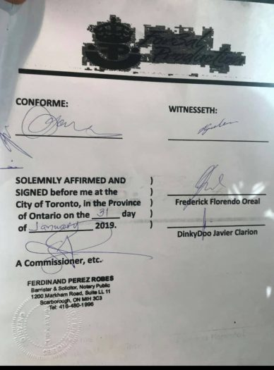 Dinky Doo contracts For3al Production (3)