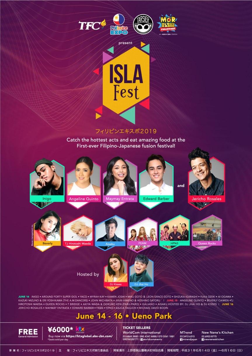 IslaFest Poster