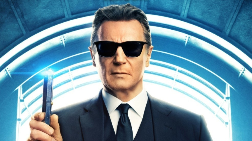 "Liam Neeson Takes on Enemies of the Planet in ""Men in Black: International"""