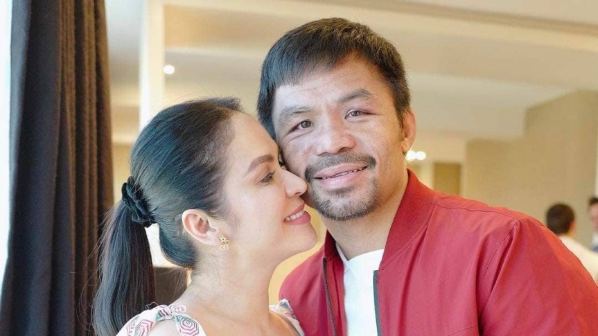 "Manny to his son Jimuel: ""Boxing is Hard!"""