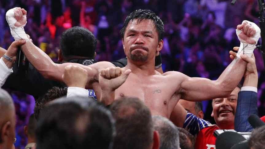 Manny Paquiao, panalo sa laban kontra KeithThurman