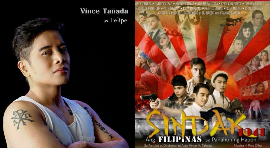 "Focusing on ordinary Filipinos during WWII in Atty. Vince Tañada's new musical play, ""Sindak 1941"""