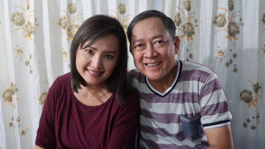 Vivian Foz and Ariosto Reyes, Jr.: Through the Years