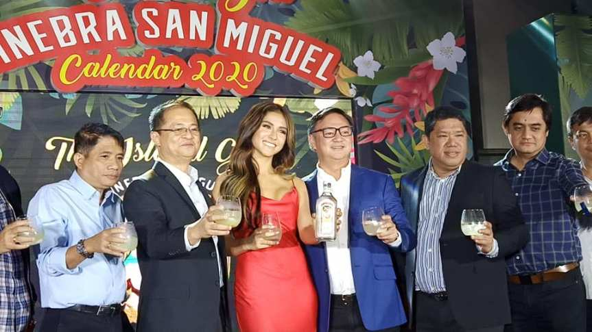 Sanya Lopez is the new 'Ginebra San Miguel's 2020 Calendar Girl'