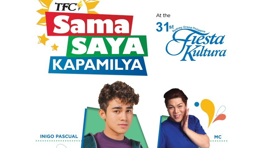 "Iñigo Pascual and MC Calaquian go to Australia for ""TFC Sama-Saya Kapamilya"" event"