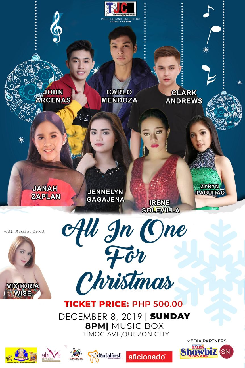 All in One for Christmas poster
