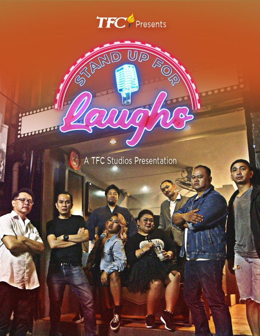 Stand Up For Laughs Poster