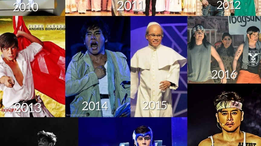 Vince Tañada reminisces his career in theater for the past 10 years