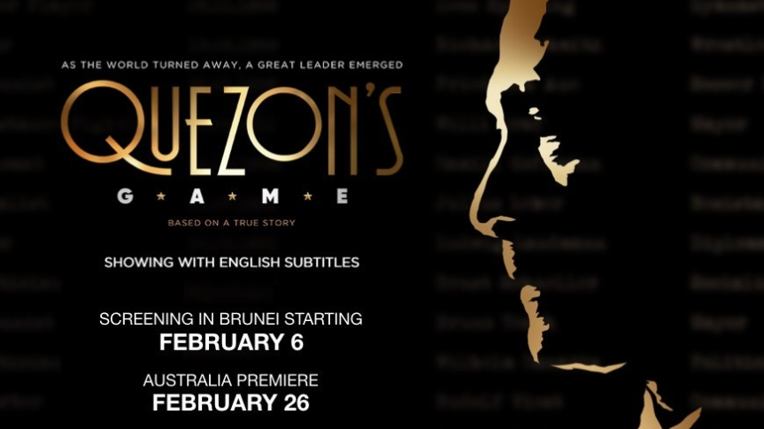 "Catch the screening of ""Quezon's Game"" across Asia Pacific in February"