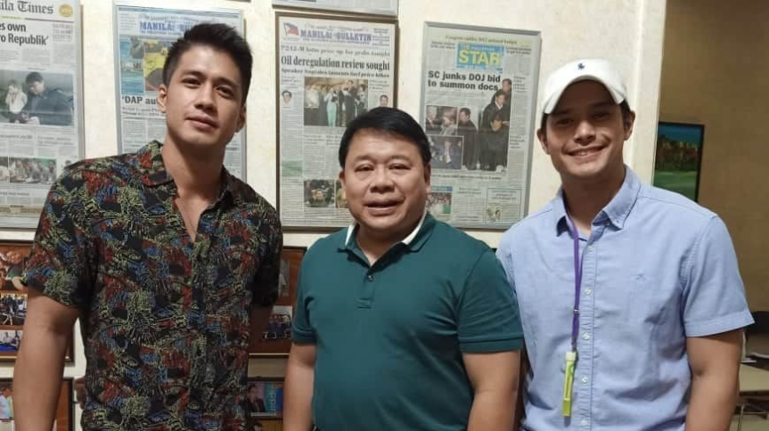 Edu Manzano, JC de Vera at  Aljur Abrenica bibida sa Mamasapano movie