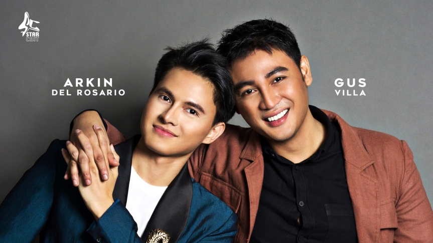 Arkin Del Rosario and Gus Villa star in a new BL series, Boyband Love