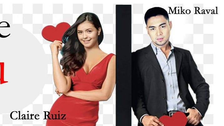 "Claire Ruiz and Miko Raval star in a romcom movie, ""Crazy in Love with You."""