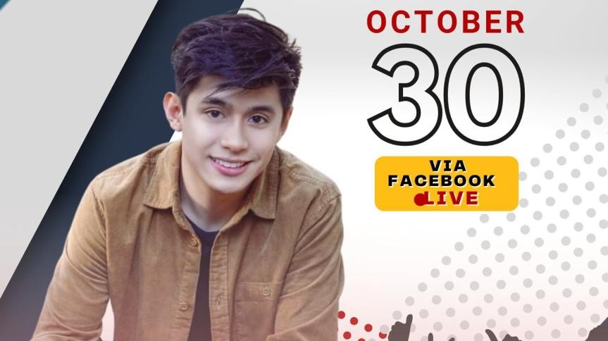"""Panoorin si John Arcenas sa """"Concert for a Cause"""" ngayong Biyernes, October30"""