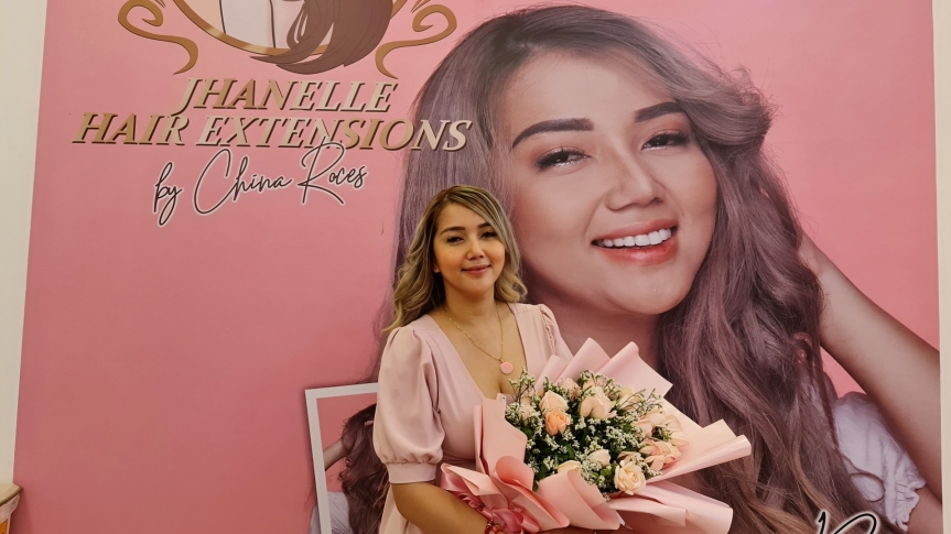 China Roces, may bagong negosyo: Jhanelle Hairextensions and Spa by China Roces