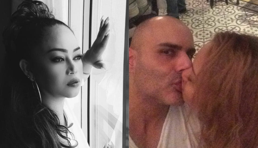 Marinella Moran spotted kissing with a French man inSingapore