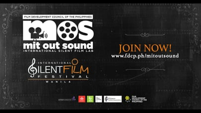 International Silent Film Festival Manila Launches Silent Film Competition on its 15thYear