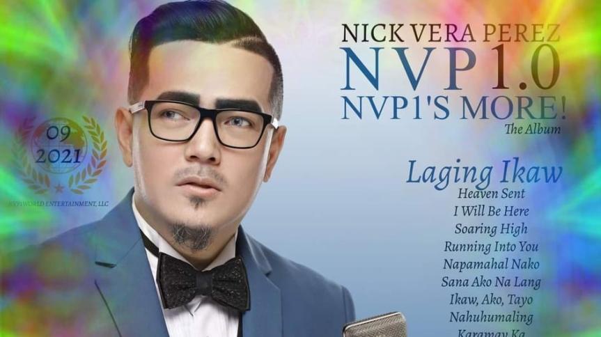 NICK VERA PEREZ IS RELEASING TWO ALBUMSSOON!
