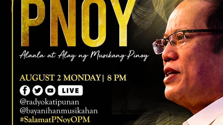 OPM artists pay tribute toPNoy